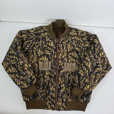 Vintage Columbia Sportswear Mens Jacket Coat Reversible Camouflage Size L