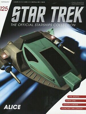 Star Trek Official Starship Collection - Issue 125 - Alice - Brand New