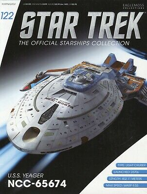 Star Trek Official Starship Collection Number 122 - USS Yeager NCC-65674