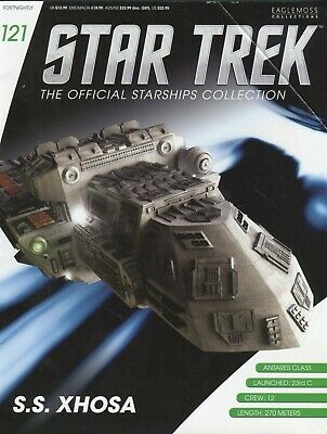 Star Trek Official Starship Collection Number 121 - S.S. Xhosa - Free Postage