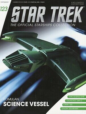 Star Trek Official Starship Collection Number 123 - Romulan Science Vessel