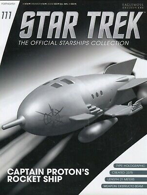 Star Trek Official Starship Collection Number 111 - Captain Proton's Rocket Ship