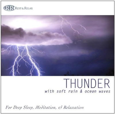 Rest & Relax Nature Sounds ...-Thunder: With Soft Rain & Ocean Waves for CD NEUF