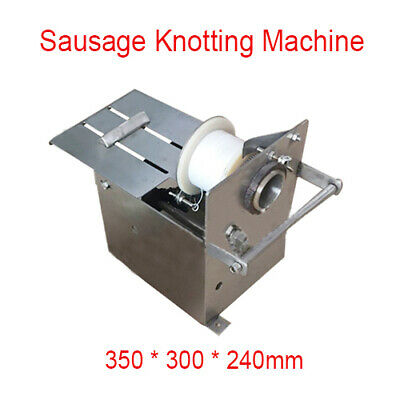 42mm Sausage Tying Knotting Machine Hand-rolling Manual Home Use Stainless Steel