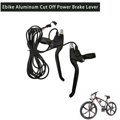 Ebike Aluminum Cut Off Power Brake Lever Bicycle mountain bike modification Kit
