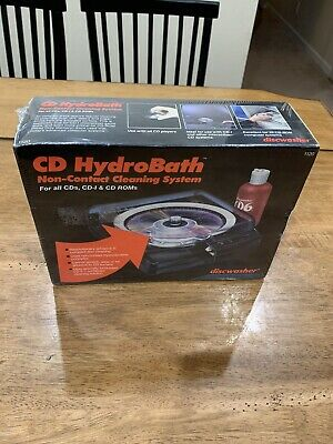 CD HydroBath Model 1120 Non-contact Cleaning System Discwasher Recoton Brand New