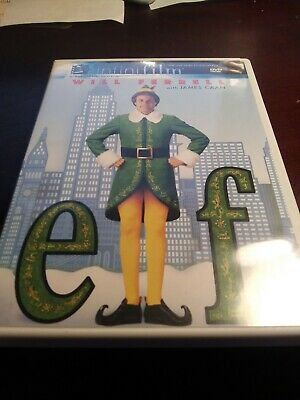pre-owned christmas dvd / ELF (starring will farrell)