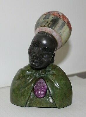 Swazi Lady - African tribal figurine - perfect condition