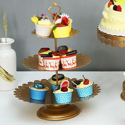 6X Cake Stand Afternoon  Wedding Party Tableware Wedding Crystal UK