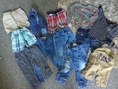 Bundle Of Baby Boy Clothes From 12 Months  Up To 2 Years NEXT Jeans Tops Ect