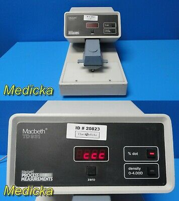 Macbeth Process Measurements TD-931 (900 Series) Film Densitometer ~ 20823