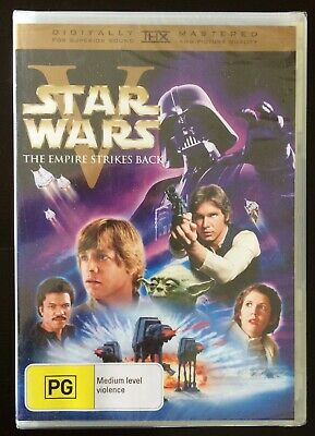 STAR WARS VI Return Of The Jedi - Carrie Fisher, Harrison Ford DVD