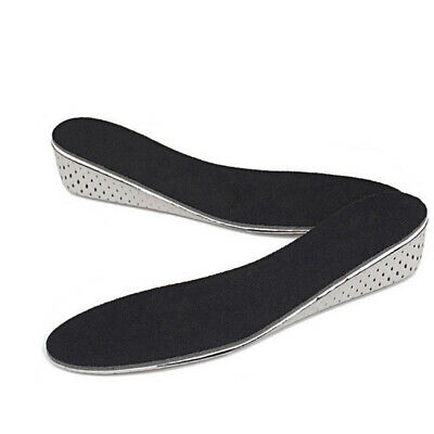 Insole Heel Lift Insert Shoe Pad Height Increase Cushion Elevator Taller Uni DYH