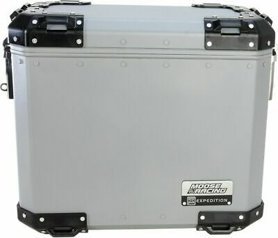 "Moose Racing LARGE SILVER Expedition Side Case 17.8"" x 10.6"" x"