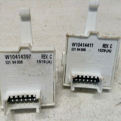 W10859568 And WPW10414397 Whirlpool Appliance Switch Set