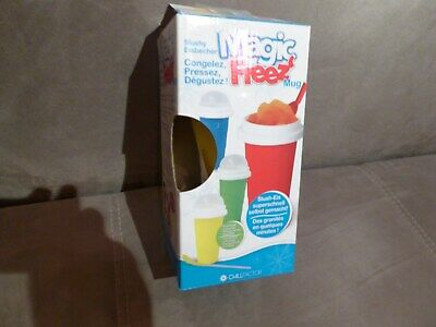 Magic Freez * Slushy Eisbecher * Gelb * Neu / Ovp