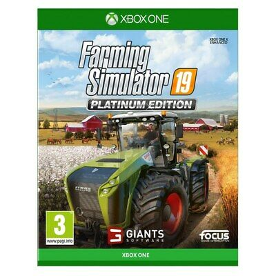 New Video Games 2020 Farming Simulator 19 Platinum Edition Xbox One UK Stock