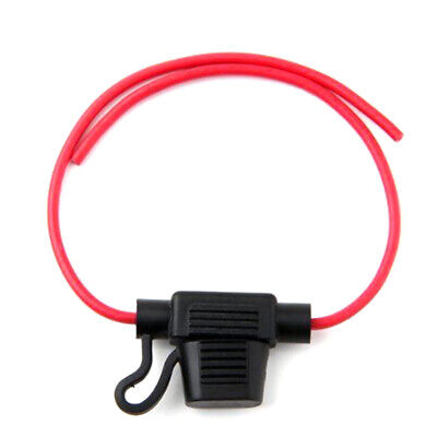 1X 16AWG Wire In-line Car Automotive Blade Fuse Holder Fuseholder 20A 32V 30°C