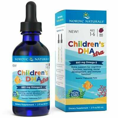 Nordic Naturals Children's DHA Xtra - Berry Flavored Omega-3 Fish Oil