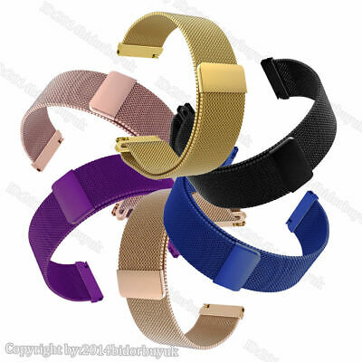 Wrist Bands Straps For Samsung Gear S3 / Gear Sport Milanese Steel Magnetic Loop