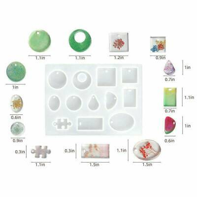 Pendant Silicone Resin Mold for DIY Jewelry Making Tool Mould Handmade Craft DIY