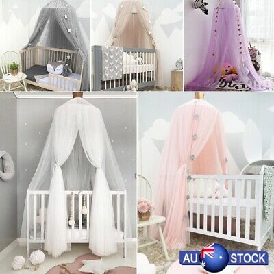 Hanging Baby Bed Canopy Mosquito Net Dome Dream Curtain Tent Children Room New