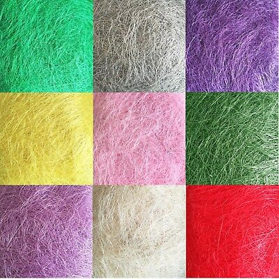 200g Florist Craft Sisal Lots Of Colours