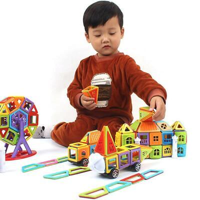 Magnetic Toy Building Blocks Set 3D Tiles DIY Toy Magic Educational Gift For Kid