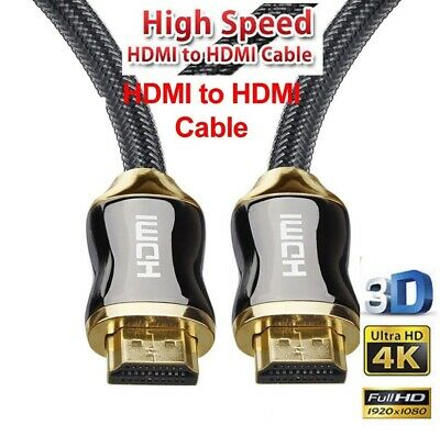 Gold Plated HDMI Cable 2.0 4K x 2K Ethernet Support Video 4K 2160P HD 1080P 3D