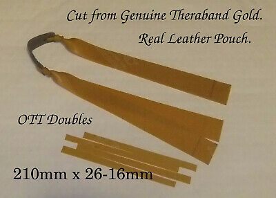 Set Of 3 Theraband Gold 2 Layer Tapered Hunting Bands