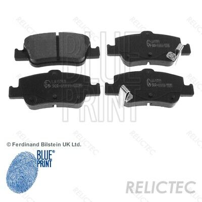 Rear Brake Pads Set for Toyota:AURIS,COROLLA 04466-02181 04466-02190 04466-02180