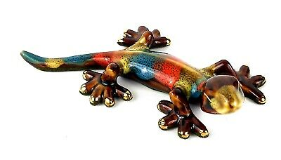 Golden Pond Collection Beautiful Ceramic Colored Gecko