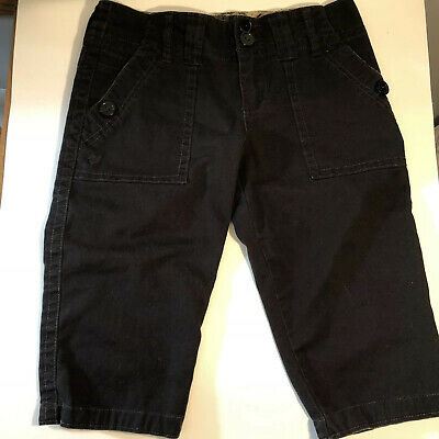 Sanctuary Clothing Peace Womens Shorts Cropped Pants Stretch Brown Size 26