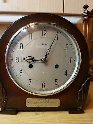 Federal 8 Day Striking Mantle Clock 1953