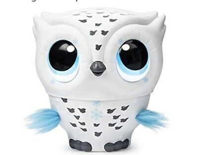 SEALED  Owleez, Flying Baby Owl Interactive Toy with Lights and Sounds - White