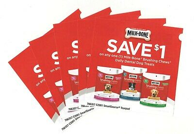 14 x Save $1.00 on Milk-Bone Brushing Chews Pet Coups (Canada)