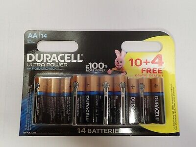 14 Piles Duracell Aa Sous Blister Neuf