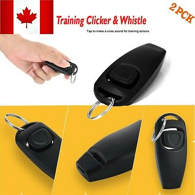 Pet Dog Training Clicker Cat Puppy Button Click Trainer Obedience Guide For Dog
