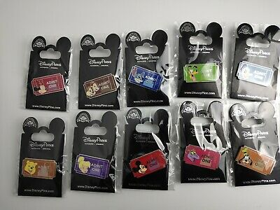 Disney-Pin-Trading-8-Assorted-Pin-Lot-Brand-NEW-Pins-No-Doubles-Tradable 縮圖 1