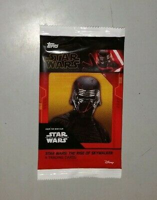 1x CINEWORLD Topps STAR WARS THE RISE OF SKYWALKER Exclusive Promo Card Pack