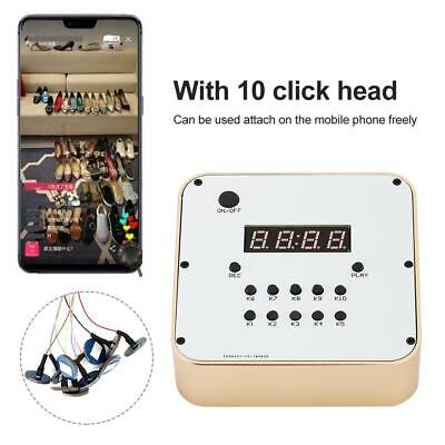1 to 10 Mobile Phone One-key Recording Automatically Auto Clicker Smart Device