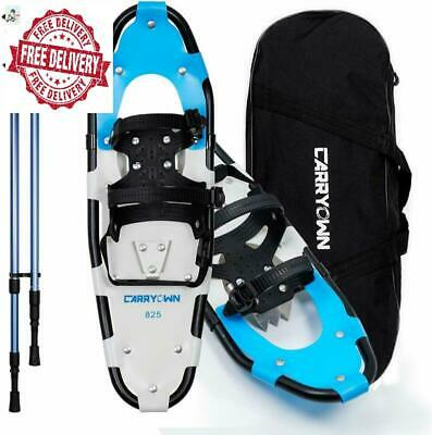 Carryown 3-in-1 Xtreme Lightweight Terrain Snowshoes for s Men Women Youth Kids,