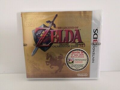 The Legend Of Zelda Boite Nintendo 3ds collector ocarina of time sans jeu