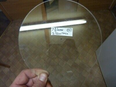 """Old 7 3/4"""" Aneroid Barometer  Slightly Bevelled Glass - Centre Drilled (Ch1)"""