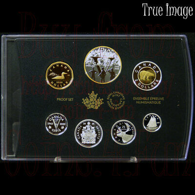 1945-2020 - 75th Anniversary of VE Day - Pure Silver Proof 7-coin Set Canada