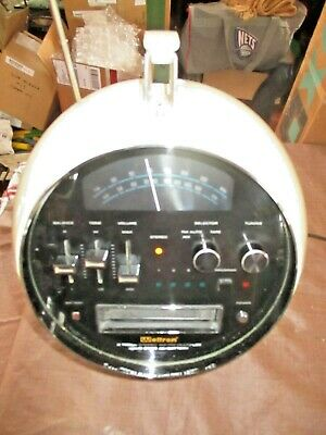 Vintage WELTRON 2001 AM FM Stereo 8 Track Player Space Ball Atomic Retro Radio