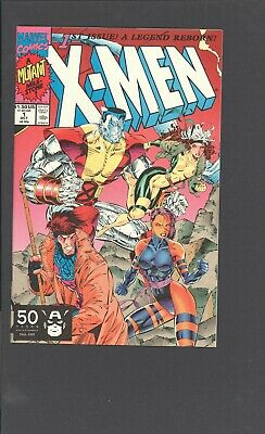 X-MEN 1 Marvel 1991 Jim Lee GAMBIT ROUGE COVER 1st appearance of Acolytes