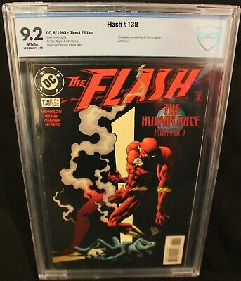 The Flash #138 1st Cameo Appearance of The Black Flash 9.2 Grade CBCS