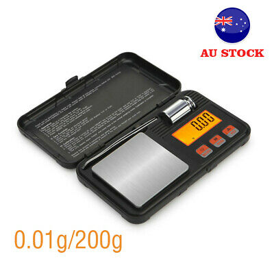 0.01g/50g Mini Digital Pocket LCD Scales for Weighing Gold Jewelery Diamond AU