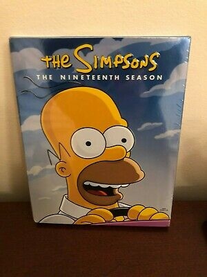 Simpsons: Season 19 (DVD, 2019, 4-Disc Set) Brand New, Factory Sealed